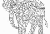 Elephant Coloring Pages to Print for Adults Elephant Coloring Pages Elephants Coloring Pages Color Page New