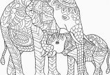 Elephant Coloring Pages to Print for Adults Elephants to Color Elephant Coloring Pages for Adults