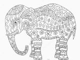 Elephant Mandala Coloring Pages Printable Elephant Coloring Pages Printable Awesome Fresh Mandala Coloring