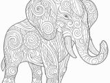 Elephant Mandala Coloring Pages Printable Elephant Mandala Coloring Pages 8 H Free Printables