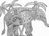 Elephant Mandala Coloring Pages Printable Elephant Mandala Coloring Pages Galleryindian Elephant Coloring