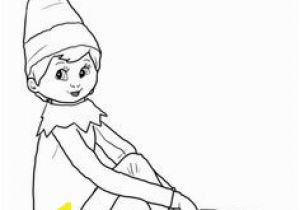 Elf On A Shelf Coloring Pages Printable Elf Coloring Page Christmas Elf Printables & Products