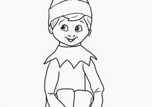 Elf On A Shelf Coloring Pages Printable Elf Coloring Pages Printable Inspirational Christmas Elf Coloring