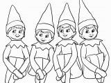 Elf On the Shelf Coloring Pages 30 Free Printable Elf the Shelf Coloring Pages