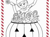 Elf On the Shelf Coloring Pages Girl Scout Elf Craft Corner Diy Scout Elf Halloween Costume