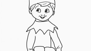 Elf On the Shelf Coloring Pages Printable Pin On Best Coloring Page Kids