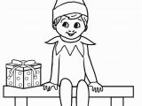 Elf On the Shelf Printable Coloring Pages Free Printable Elf Coloring Pages for Kids