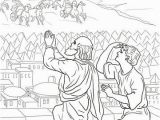 Elijah Bible Story Coloring Pages Elisha Fiery Army Coloring Page
