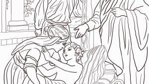Elisha and the Shunammite Woman Coloring Page Elisha and the Shunammite Woman Coloring Page