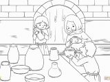 Elisha and the Widow S Oil Coloring Page the Widow and Her sons Pour Oil Into All the Jars Coloring