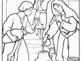 Elisha and the Widow S Oil Coloring Page Widow S Oil