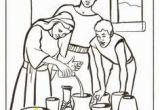 Elisha Helps A Widow Coloring Page 43 Best Elisha Widow S Oil Images