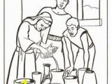 Elisha Helps A Widow Coloring Page 43 Best Elisha Widow S Oil Images