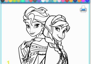Elsa and Anna Coloring Pages Games Coloring Games