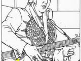 Elvis Presley Coloring Pages 12 Best Elvis Coloring Pages Images