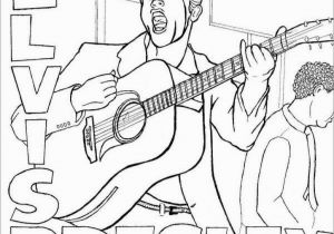 Elvis Presley Coloring Pages Elvis Coloring Pages