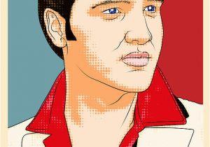 Elvis Presley Coloring Pages Elvis Presley Pop Art