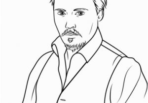 Elvis Presley Coloring Pages Johnny Depp Coloring Page