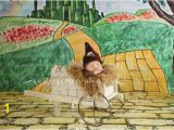 Emerald City Wall Mural Wizard Of Oz Yellow Brick Road Emerald City Ruby Red Slippers Dorothy Tin Man Scarecrow Graphy Backdrop Poly Paper