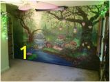 Enchanted Fairy forest Wall Mural 1913 Best House Plan Images