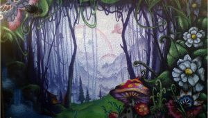 Enchanted Fairy forest Wall Mural Enchanted forest In 2019