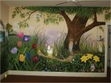 Enchanted Fairy forest Wall Mural Fantasyland Mural Idea In fort Mill Sc