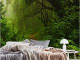 Enchanted Fairy forest Wall Mural Jungle Wall Mural Wallpaper forest
