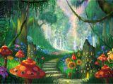 Enchanted Fairy forest Wall Mural Pin by Dorota Zając On Plakaty