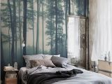 Enchanted forest Bedroom Wall Mural Sea Of Trees forest Mural Wallpaper Muralswallpaper
