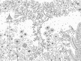 Enchanted forest Coloring Pages Pdf Colouring Books Created by Johanna Basford Secret Garden and