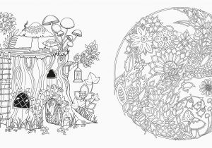 Enchanted forest Coloring Pages Pdf forest Coloring Pages Elegant Amazon Enchanted forest An Inky Quest