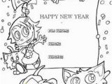 End Of Year Coloring Pages 30 Best New Year Coloring Page Images On Pinterest