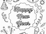 End Of Year Coloring Pages Happy New Year Coloring Pages Holiday Coloring Pages