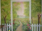 English Garden Mural 109 Best Garden Murals Images