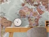 Environmental Graphics Giant World Map Wall Mural 134 Best Ideas for Man Caves and Bachelor Pads Images In