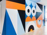 Environmental Graphics Wall Murals 120 Wall St by Craig & Karl Nsx
