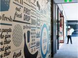 Environmental Graphics Wall Murals Getting Central Retail Market & Grocery Pinterest