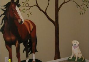 Equestrian Wall Mural A Must Have for A New Room