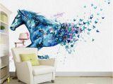 Equestrian Wall Mural Modern 3d Horse Wallpaper Mural Home Decor Wall Papers Living