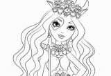 Ever after High Coloring Pages Lizzie Hearts Ever after High Lizzie Hearts Coloring Pages Download