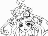 Ever after High Coloring Pages Lizzie Hearts Free Printable Ever after High Coloring Pages Lizzie
