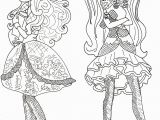 Ever after High Coloring Pages to Print Free Printable Ever after High Coloring Pages Apple White