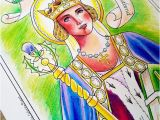 Evil Queen Coloring Page St Margaret Of Scotland Pdf Catholic Coloring Page
