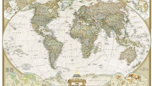 Executive World Map Wall Mural World Executive Wall Map the Tasmanian Map Centre