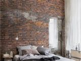 Exposed Brick Wall Mural Urban Decayed Red Wallpaper Wall Mural