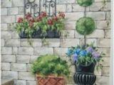 Exterior Mural Paint Secret Garden Mural Painted Fences Pinterest