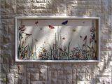 Exterior Murals Outdoor Wall Murals butterflies Mosaic for An Outside Wall