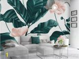 Extra Large Wall Murals Floral Wallpaper Tropical Leaf Wall Mural Flower Wall Art Tropical