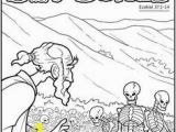 Ezekiel Dry Bones Coloring Page Cathy S Corner Ezekiel and the Valley Of the Dry Bones