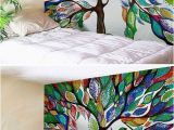 Fabric Mural Wall Art Home Decor Wall Hanging Fabric Tapestry for Dorm